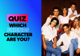 Which friends character are you? [10 Questions] 9