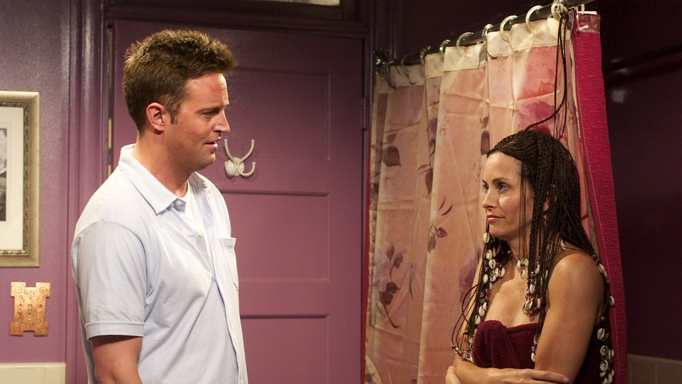 Chandler and Monica started living together from the very first day. 6