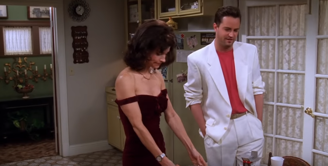In next year's Thanksgiving , what body part of Chandler was accidentally cut by Monica? 5