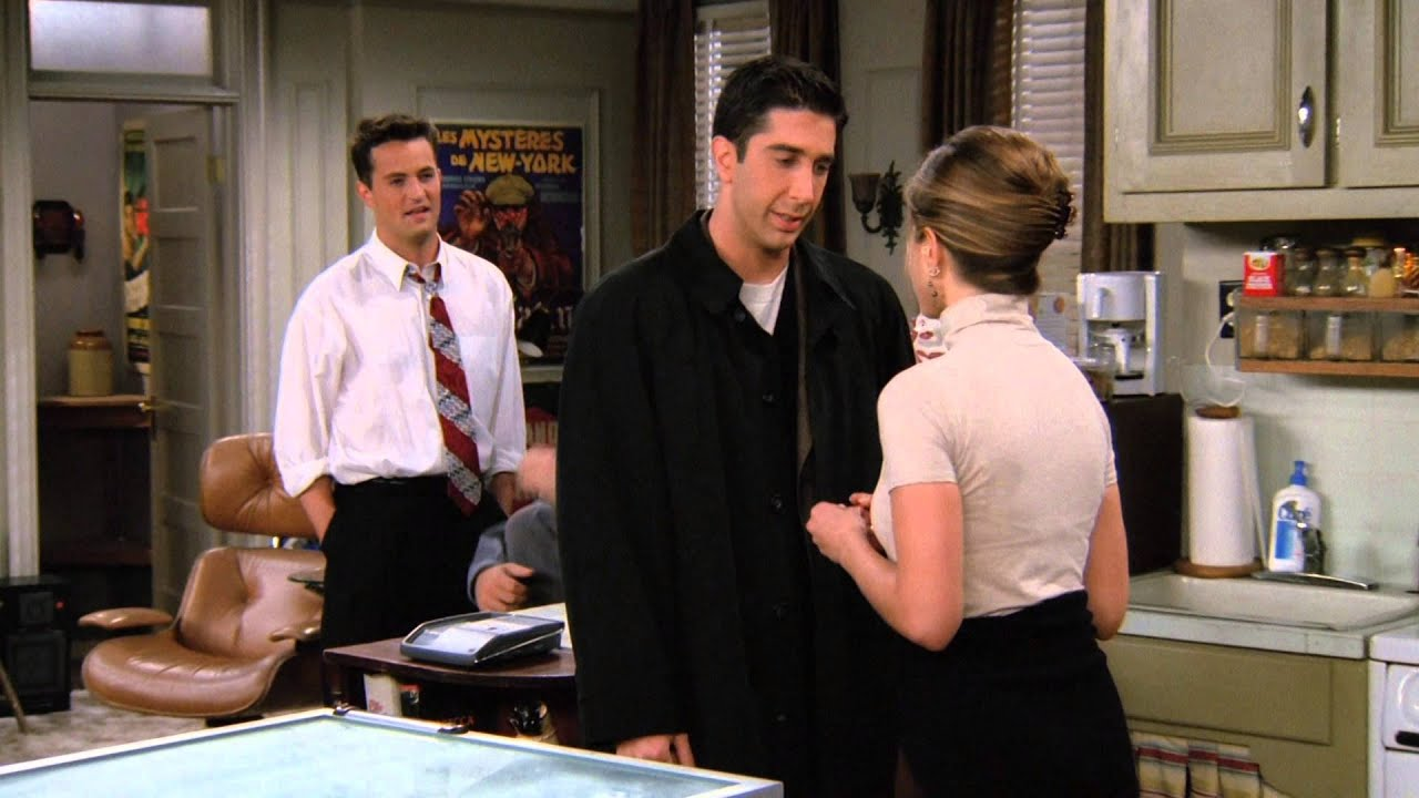 When Ross has to choose between Rachel and Julie, how does he decide? 9
