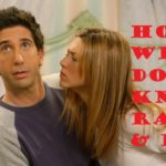 Can You answer 10 Love questions about Rachel and Ross? 12