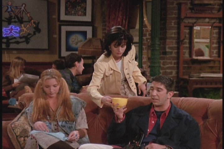 Ross: Nuh-uh, no,no,don't...stop cleansing my _______. 6