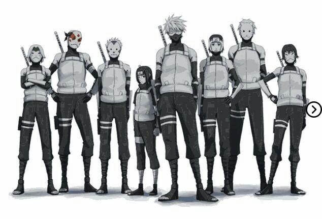 What does ANBU mean? 4