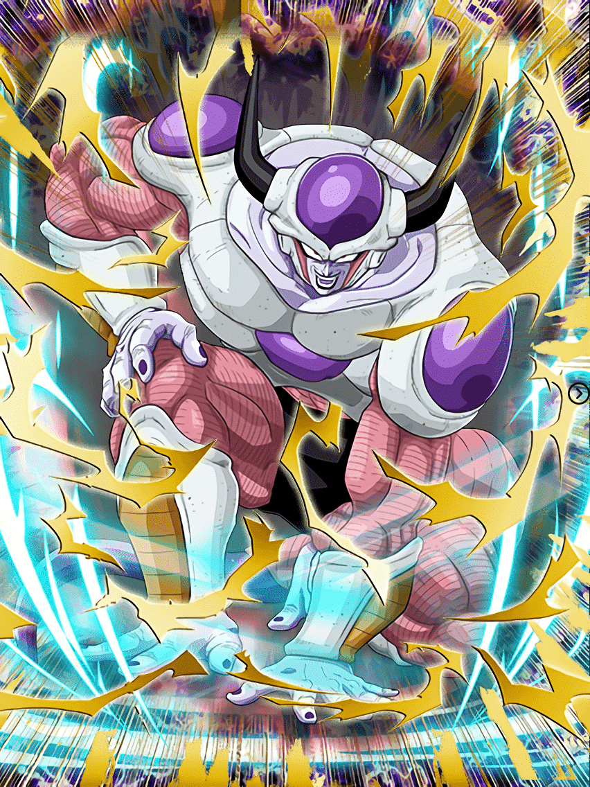 When Frieza is in his second form, what's his power level? 15