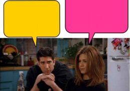 Can you finish these 10 lines from season 2 Friends 6