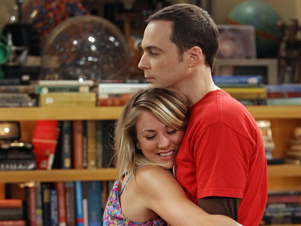 When Penny Fall into the bath tub, What was the reason Sheldon gave? 3