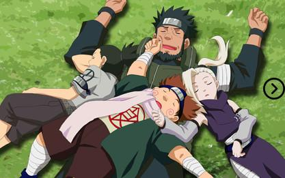 What is Team Asuma's favorite food? 9
