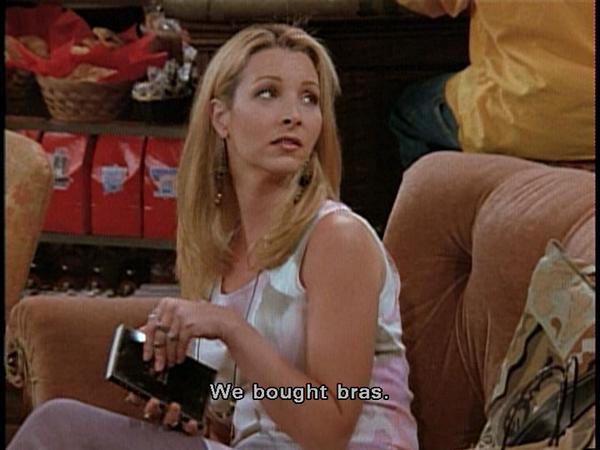 Rachel: You bought _________? 4