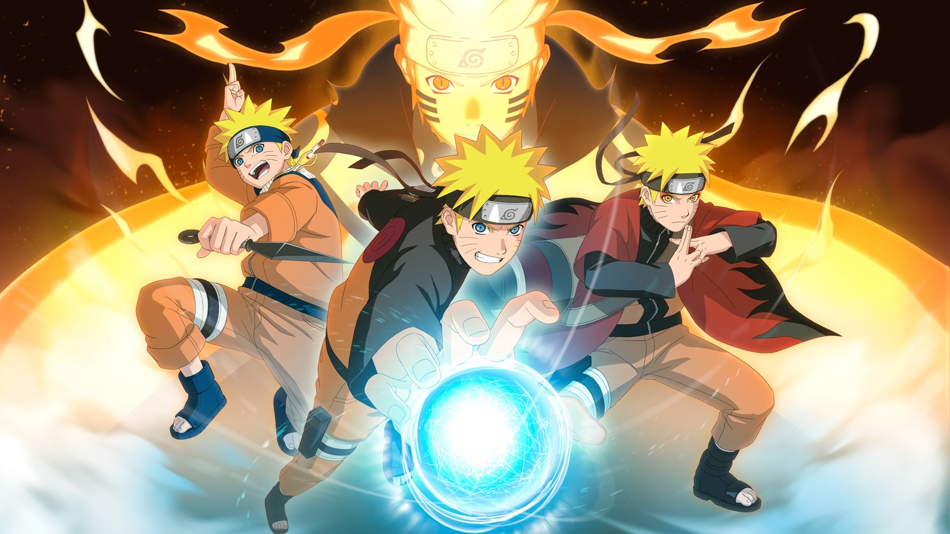 Naruto was entitled with the name 3