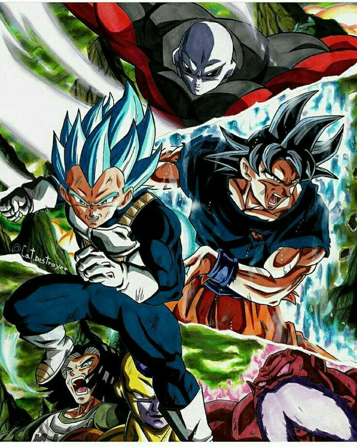 Who among is on the way of becoming God of Destruction 6