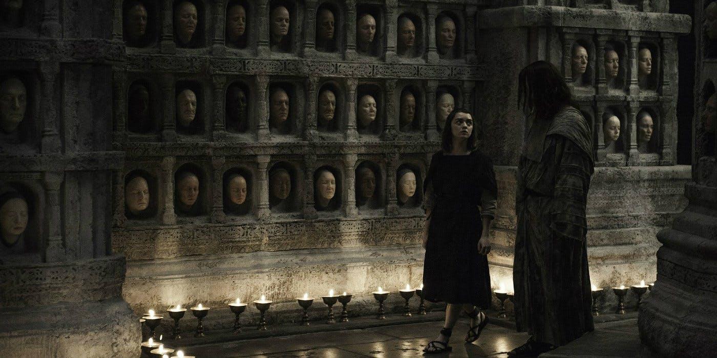 Where did Arya Stark Trained to be Nobody? 10
