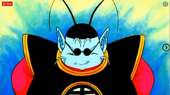 During the Saiyan Saga, how does Goku reach King Kai's planet? 11