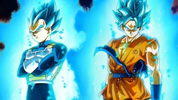 Goku Can transform From SSj 3 to SSJ blue 9