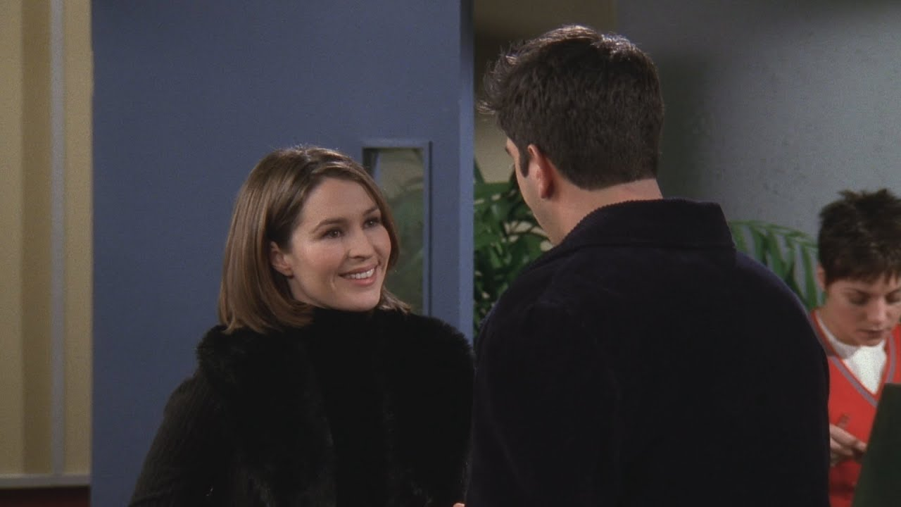 Where did Ross and Emily met for the first time? 5