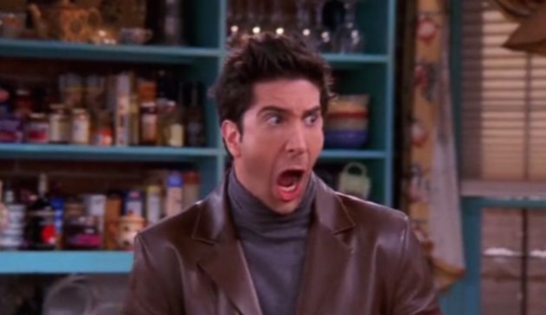 Ross panics to see his son with 2