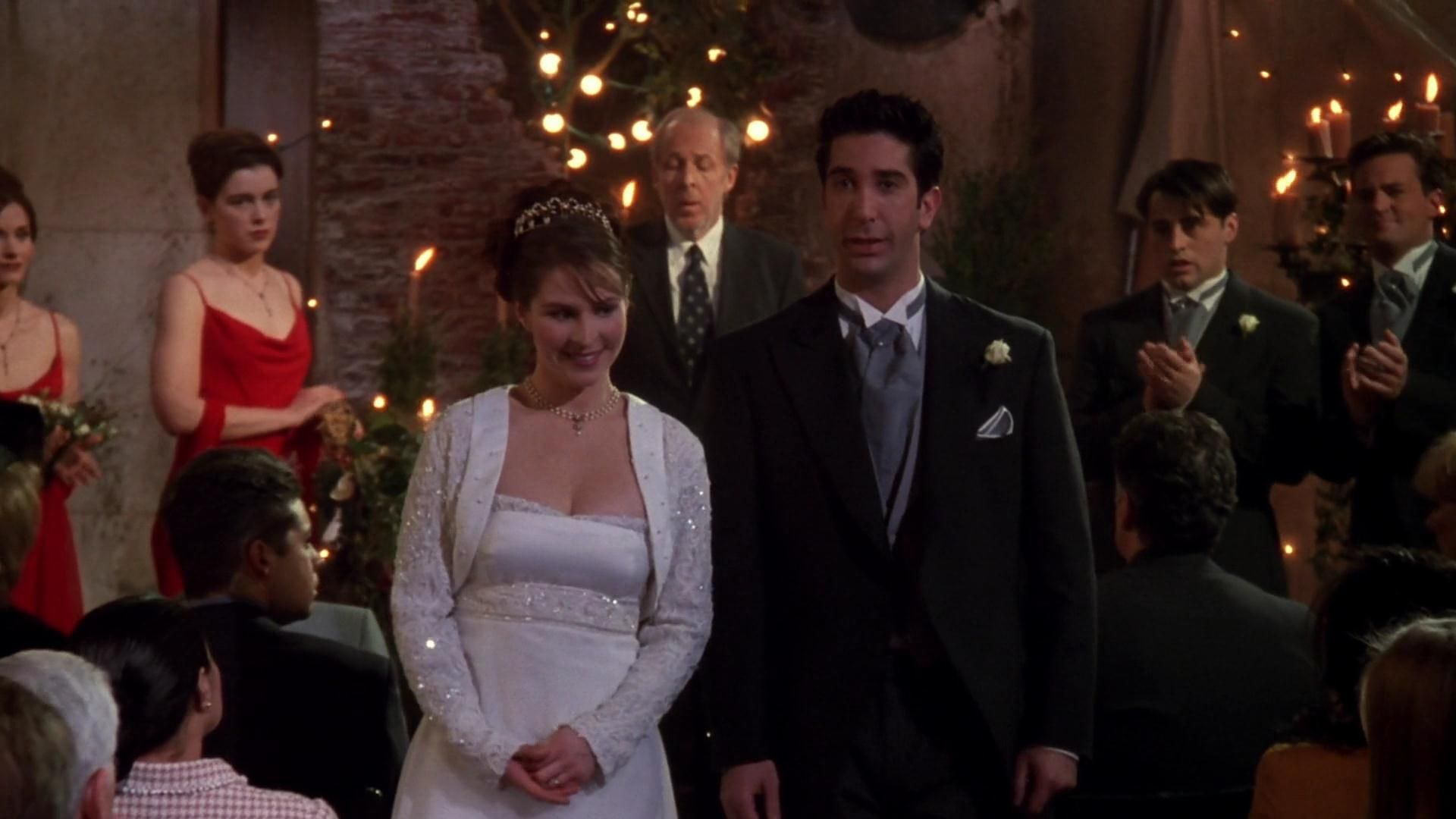 Where did the whole wedding took place? 3