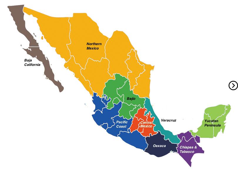 ¿Cuántos estados tiene México? 3