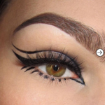 10 Inspirational eyeliner designs to rock your style 1