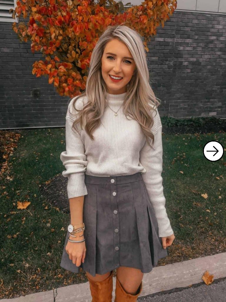20 Short skirt inspiration for girls 1