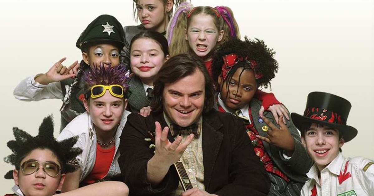 before and after school of rock