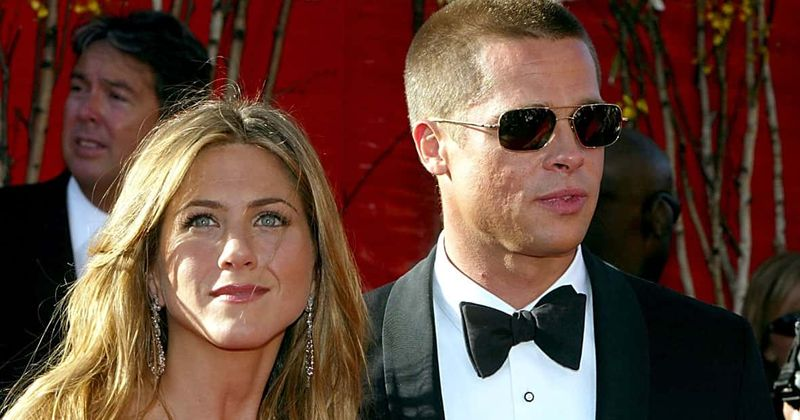 10 Photos Of Jennifer Aniston and Brad Pitt When They Were Together 10