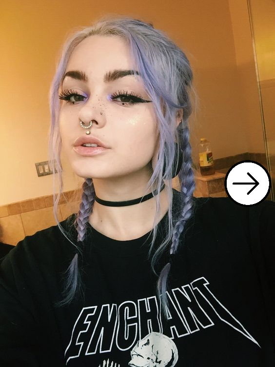 10 Style Inpiration of Egirl Makeup that are trending in the internet 4