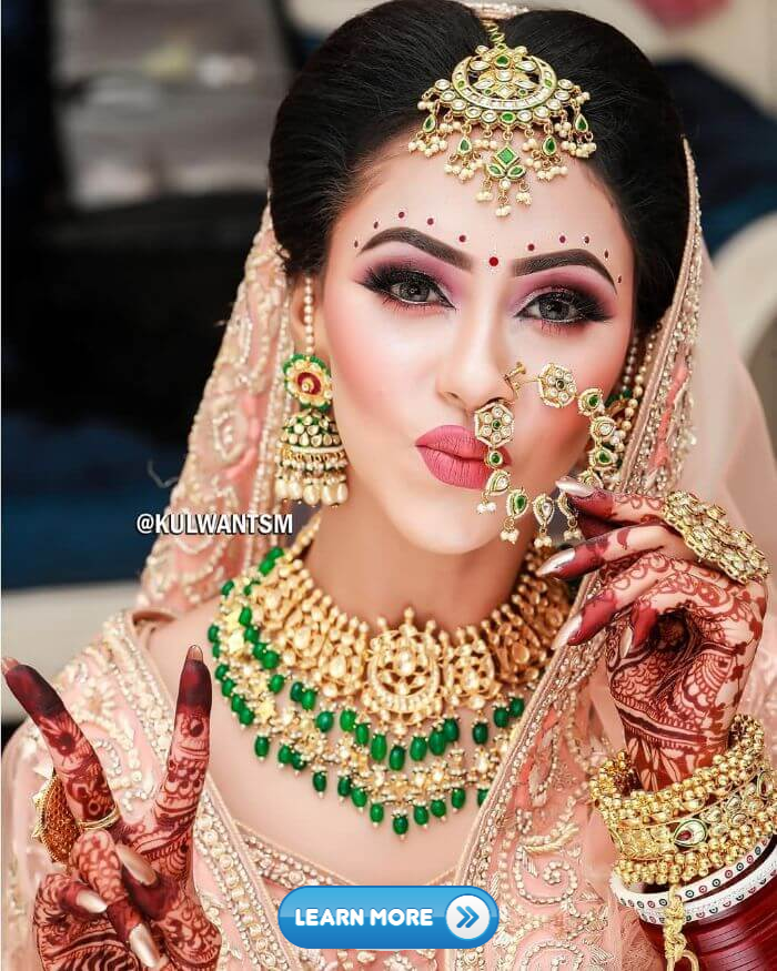 20 Amazing Wedding Jewlery Designs indian women wear 1