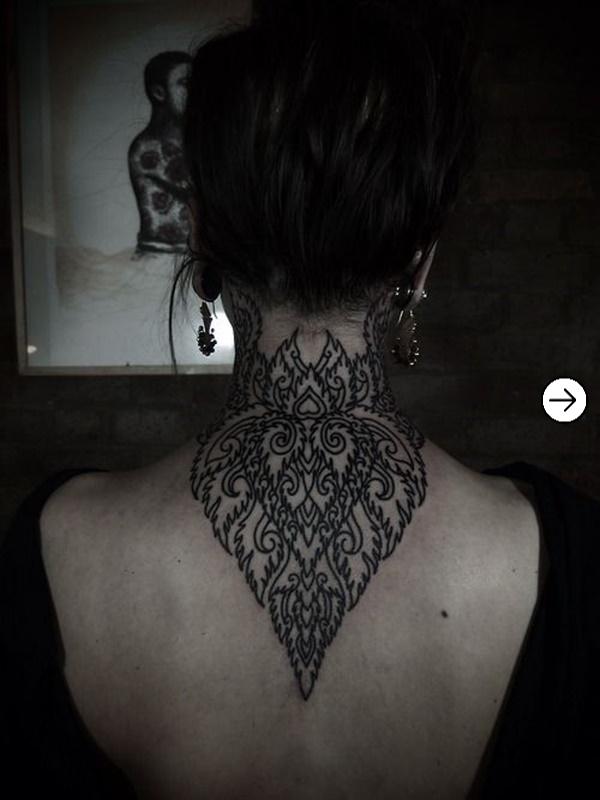 Top 20 back Tattoo design inspiration for girls 6