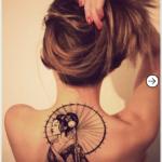 Top 20 back Tattoo design inspiration for girls 17