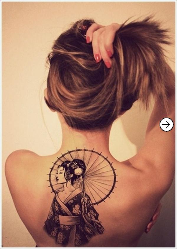 Top 20 back Tattoo design inspiration for girls 5