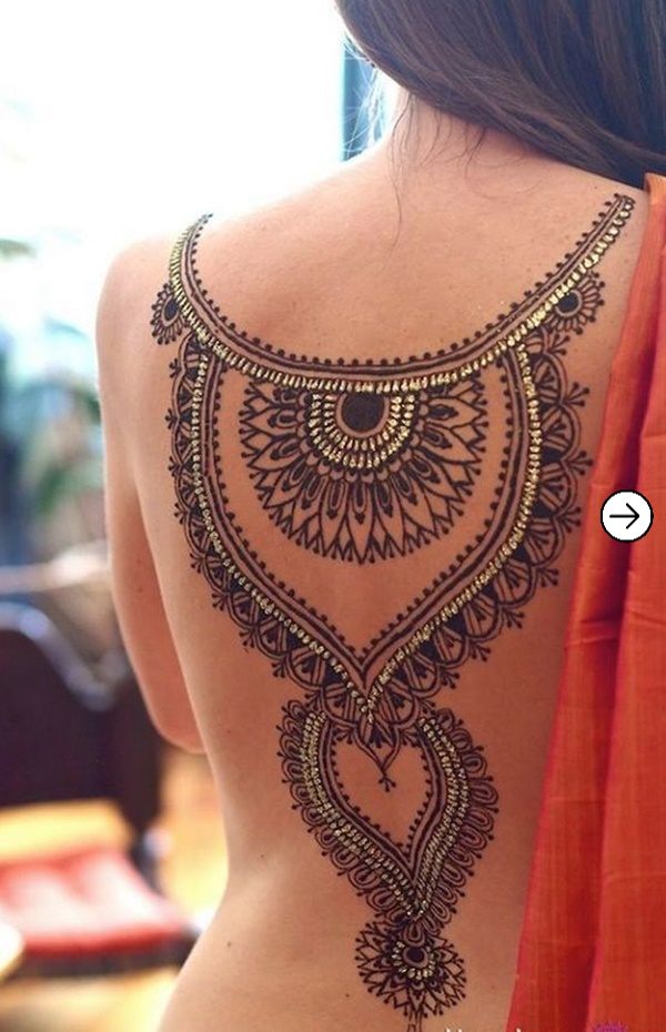 Top 20 back Tattoo design inspiration for girls 8