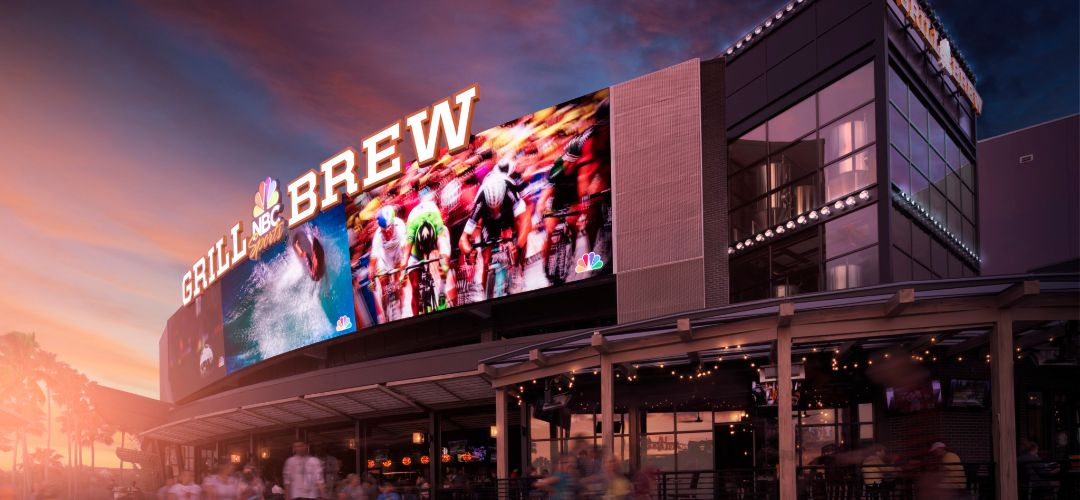 NBC Sports Grill & Brew at Universal CityWalk in Orlando