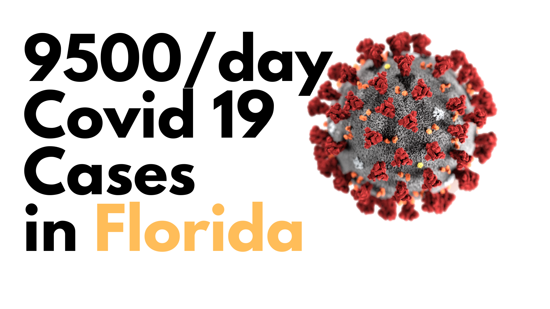 Florida breaks record with 9,585 Covid19 new cases 1