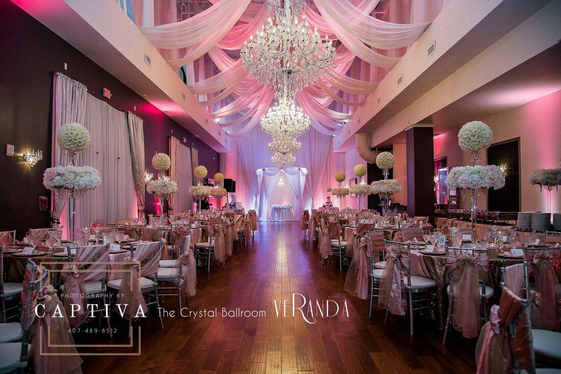 The Crystal Ballroom The Crystal Ballroom for wedding