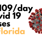 Florida: 10,109 New cases of Covid19 1