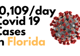 Florida: 10,109 New cases of Covid19 2