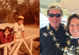 UCF couple met at frat party, Married for 40 years 5