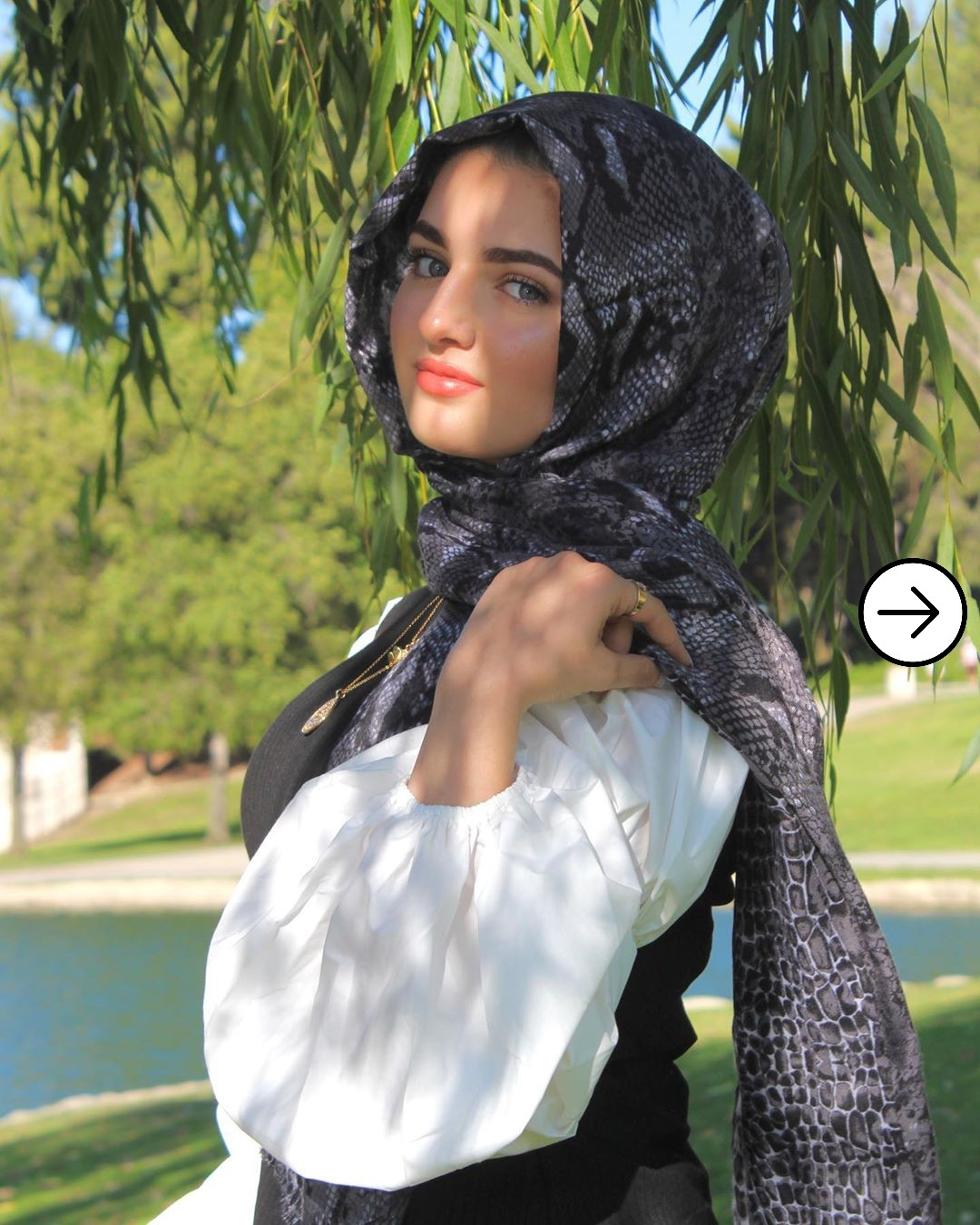 Noura Abdi: Hijabi instagram model that's breaking the internet 2