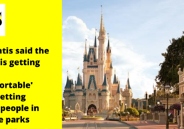 Florida governor supports Disney, Universal, and state amusement parks easing COVID-19 capacity limits 8