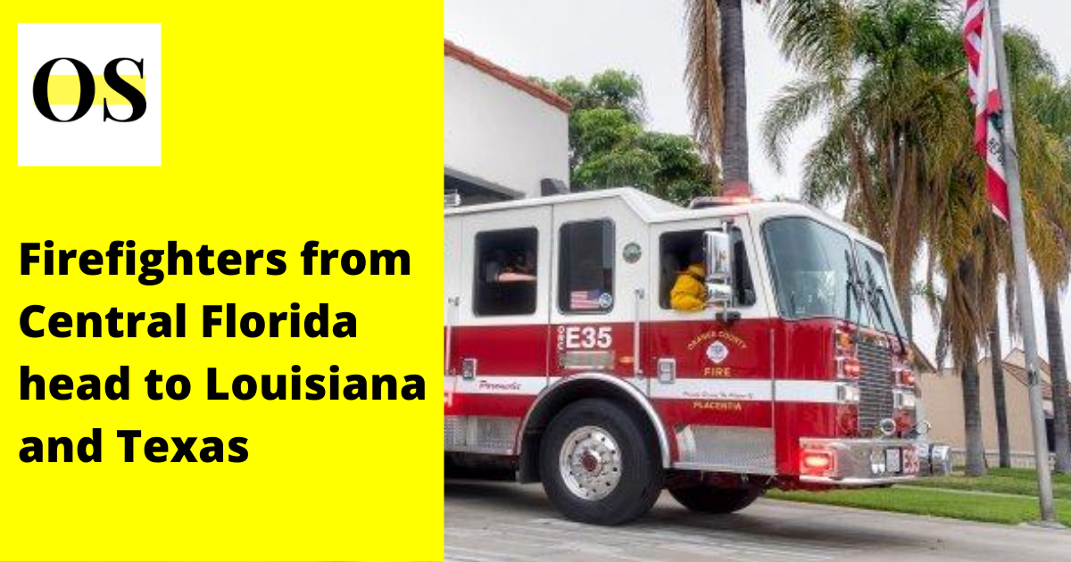 Central Florida firefighters head to Louisiana 1