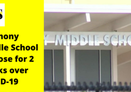 Harmony Middle School to close after staff members tested positive 5