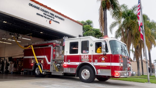 Central Florida firefighters head to Louisiana