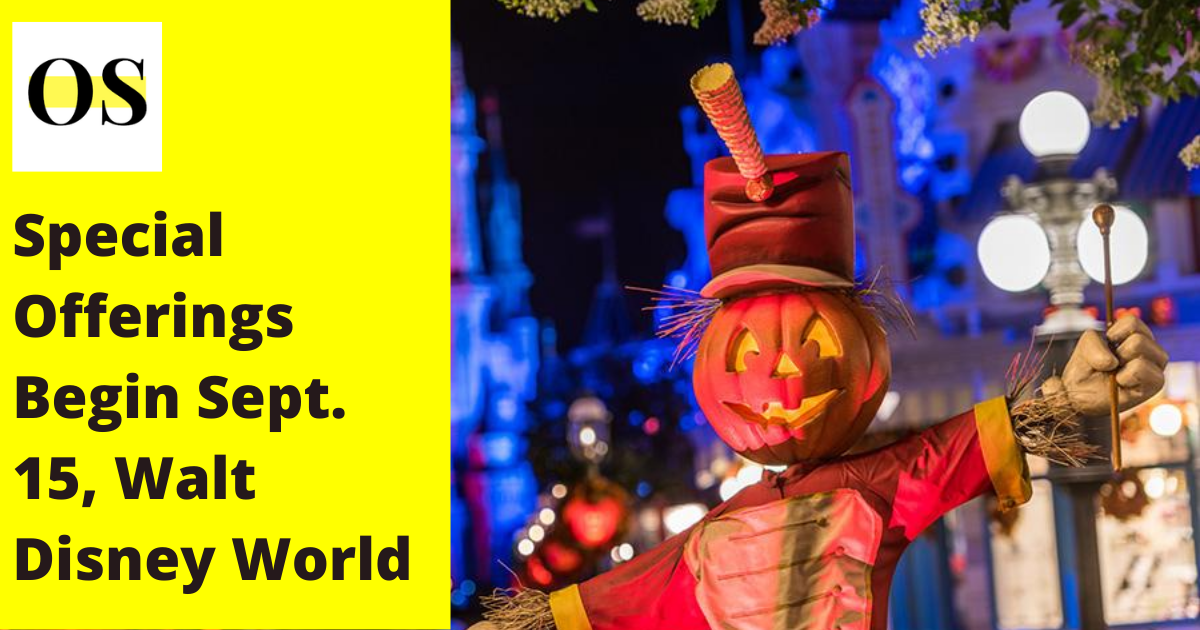 Festive Fall Joy in Disney World 1