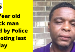 31 Year old Black man died by Police Shooting last Friday 3