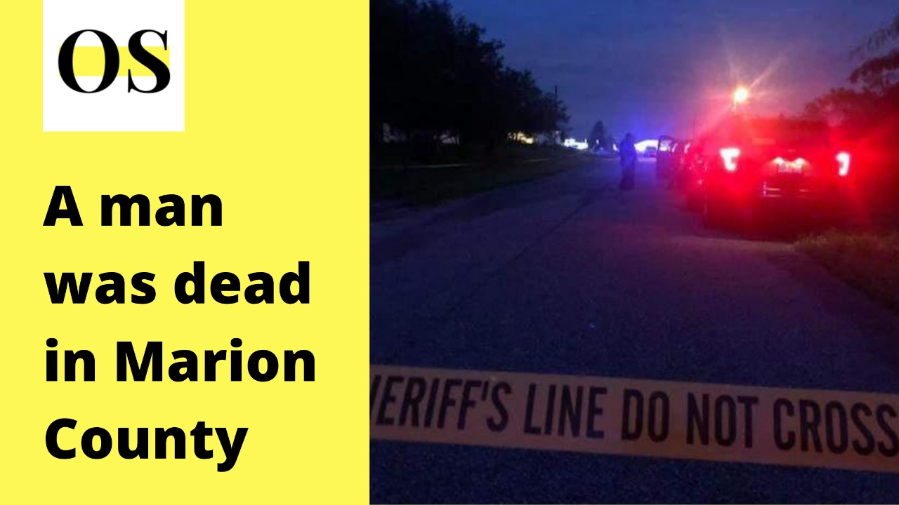 Man was dead in the deputy shooting case in Marion County on 15 August 1