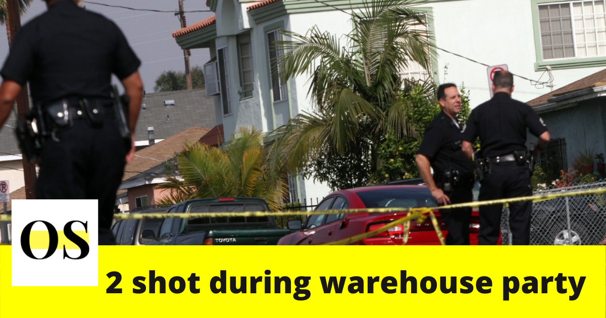 2 men shot during warehouse party in Orange County 2