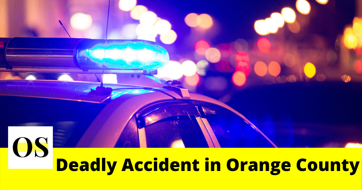 A 60-year-old man was killed Friday morning in a crash in Orange County 2