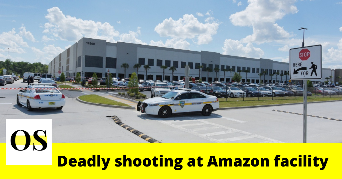 1 killed and 1 injured in the shooting at Florida Amazon facility 3