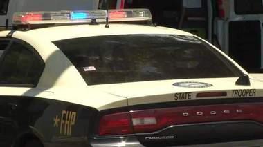truck overturns in Brevard County