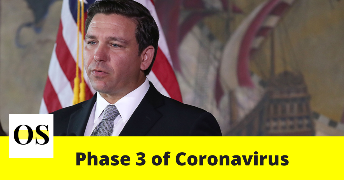 Gov. DeSantis announces phase 3 of coronavirus in Florida on Friday 1